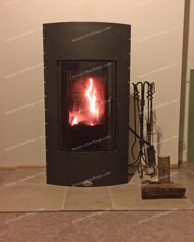 feu de cheminée après ramonage