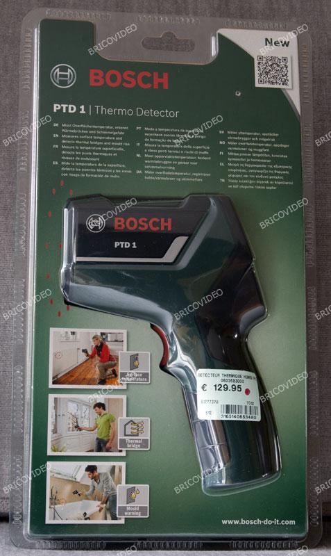 Détecteur thermique Bosch PTD1
