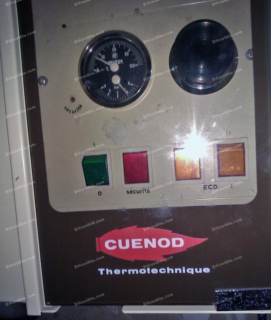 branchement thermostat d ambiance chaudiere cuenod