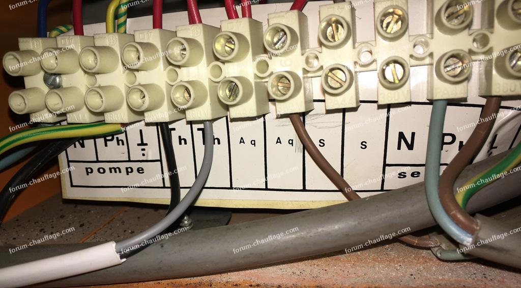 branchement thermostat Netatmo sur chaudière fioul SLCF