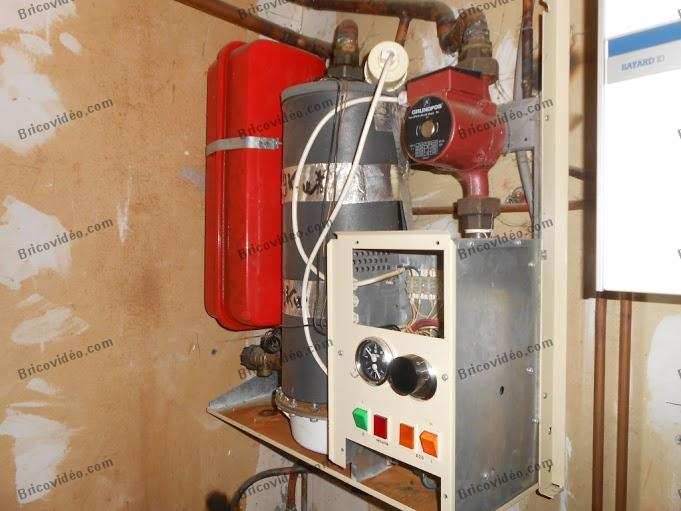 brancher thermostat sur vieille chaudiere 004
