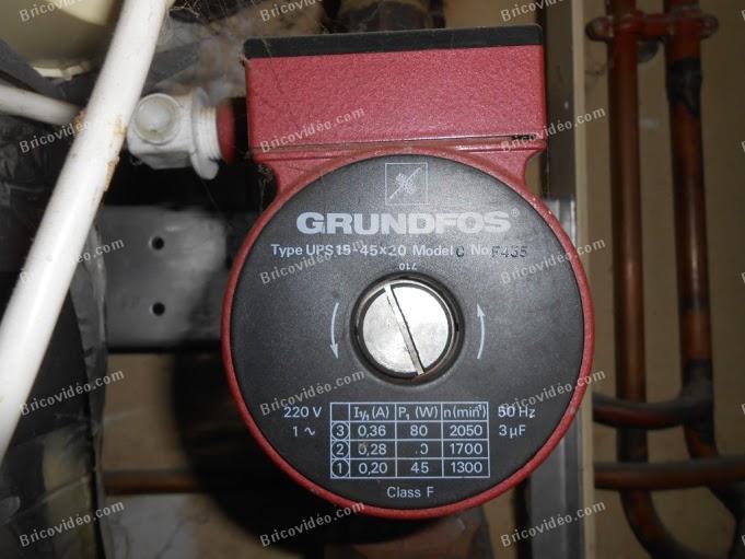 brancher thermostat sur vieille chaudiere 009