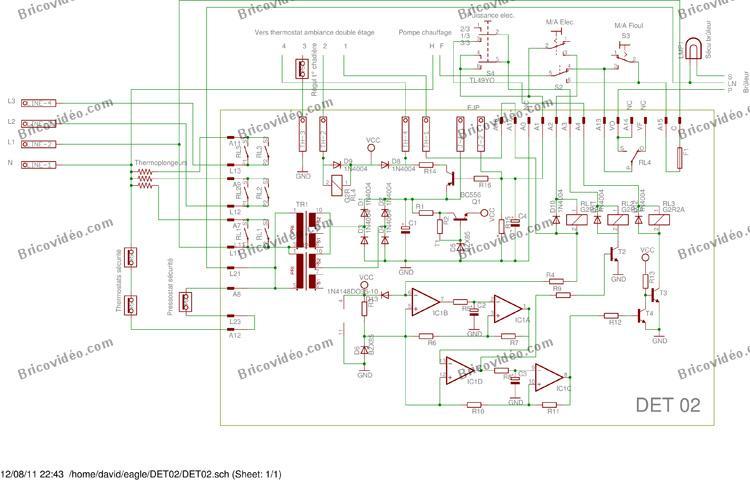 Schema regulation chaudiere fioul - Thermoflash digi 2 ...