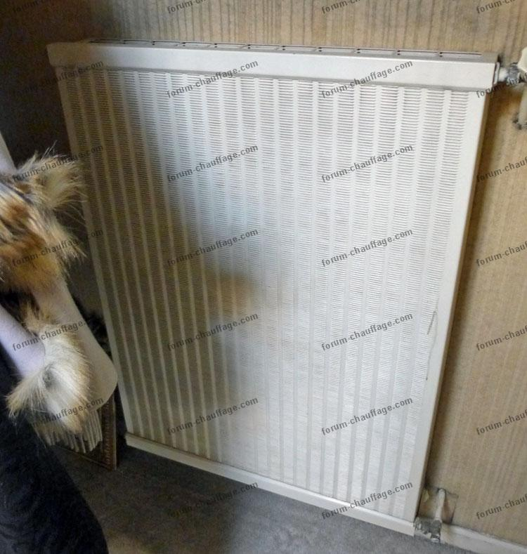 Remplacer radiateur fonte latest remplacer radiateur cote - Demonter radiateur fonte ...