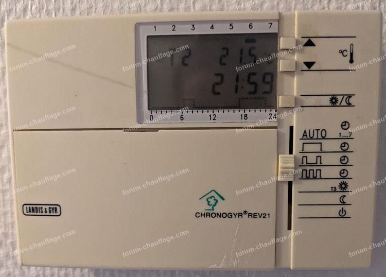 chaudière gaz se met en sécurité