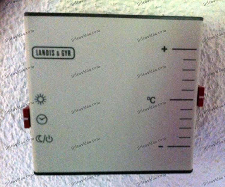 utilisation chauffage Landis & Gyr QAA 32.2