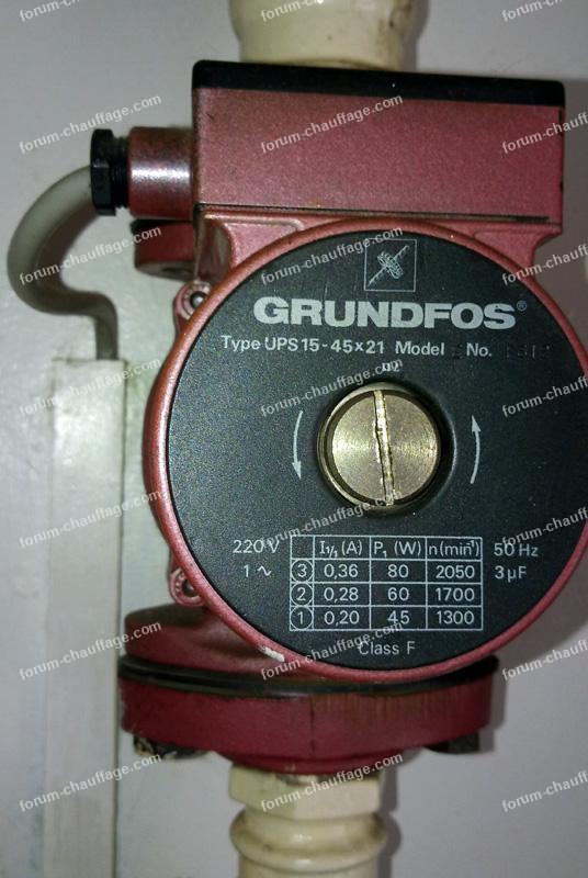 circulateur Rrundfos UPS 15