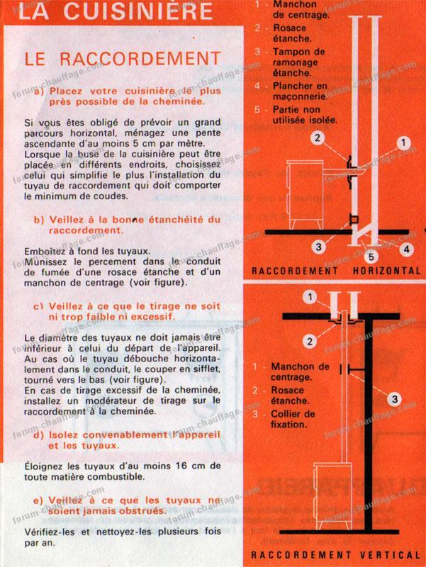 Problème cuisinière à bois Rosières 18076 qui fume - Forum ...