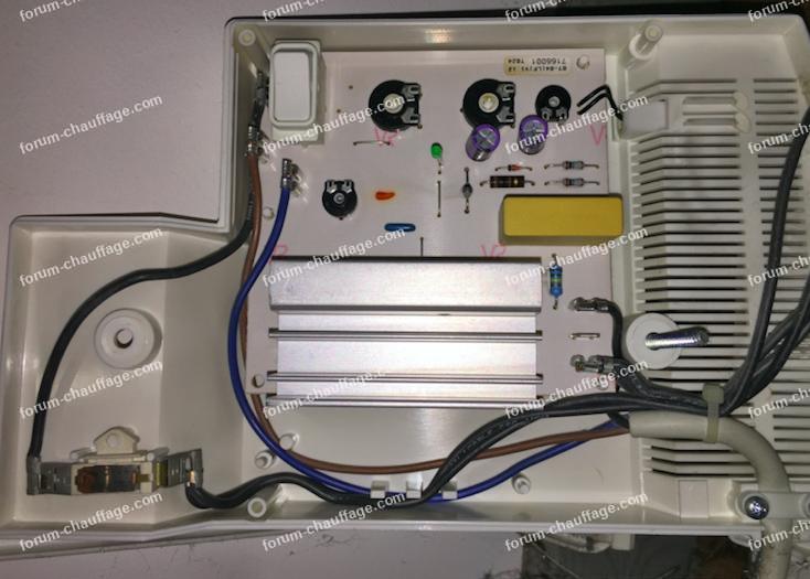 dépannage radiateur électrique LVI