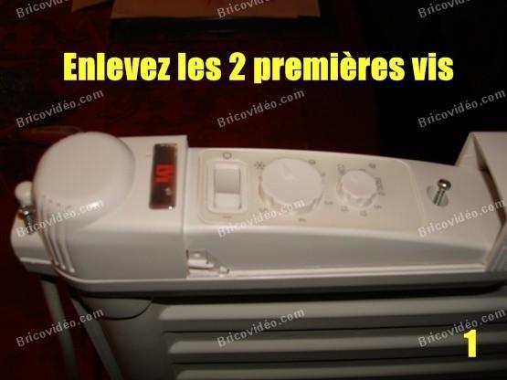 depanner radiateur electrique lvi 1