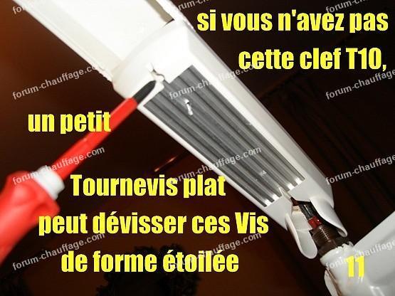 depanner radiateur electrique lvi 11