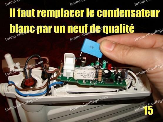 depanner radiateur electrique lvi 15