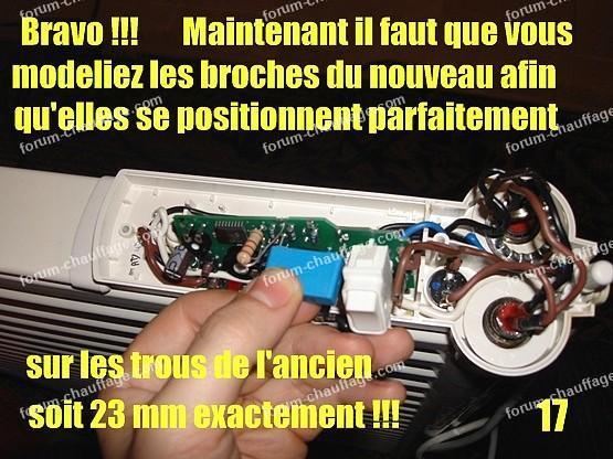 depanner radiateur electrique lvi 17