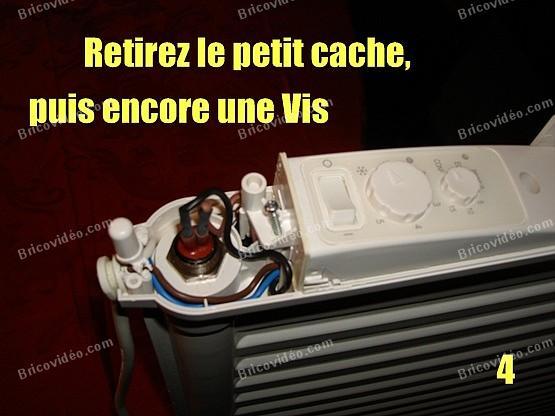 depanner radiateur electrique lvi 4