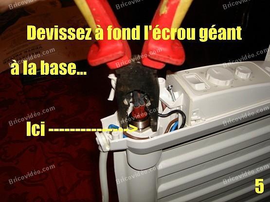 depanner radiateur electrique lvi 5