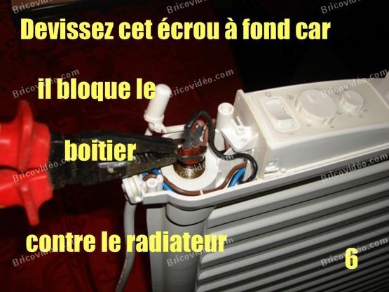 depanner radiateur electrique lvi 6