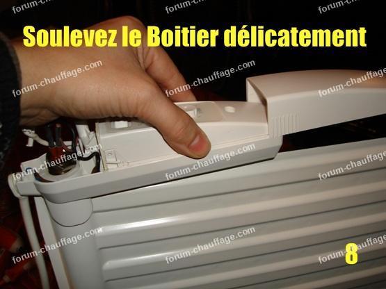 depanner radiateur electrique lvi 8