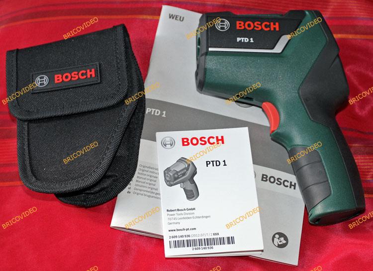 test thermo d tecteur thermique bosch ptd1 conomiser de l 39 nergie d tecter lponts thermiques. Black Bedroom Furniture Sets. Home Design Ideas
