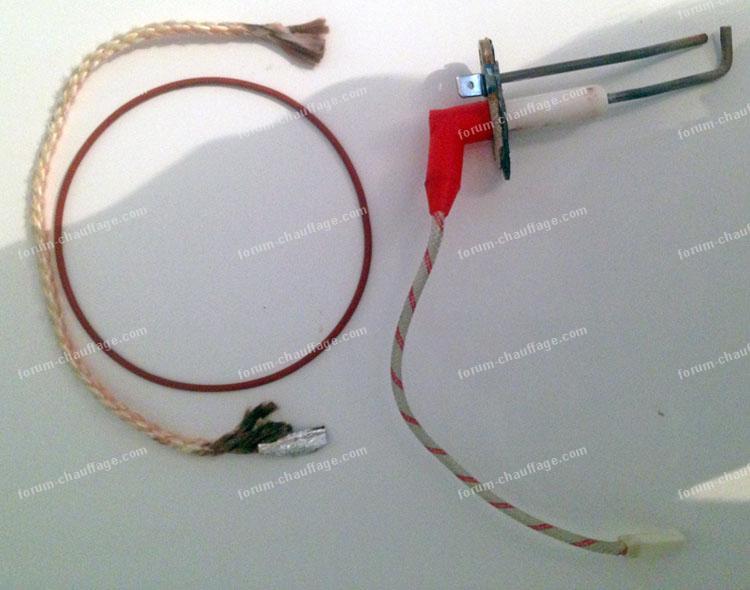 électrode d'allumage/ionisation chaudière De Dietrich