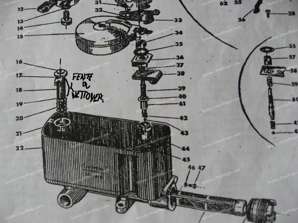 Schema carburateur poele mazout - Poele a fuel ...