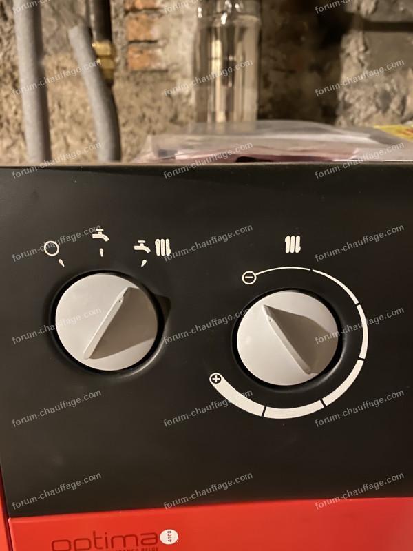 fonctionnement chaudière Optima 4100