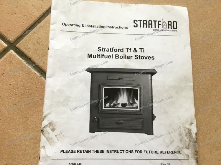 Installation poêle Stratford avec chaudière