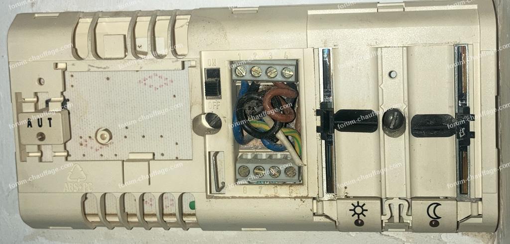 problème installation thermostat chaudière Buderus