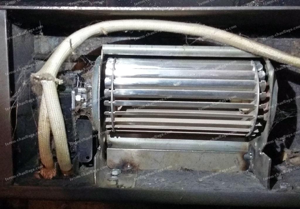moteur récupérateur de cheminee Tifon
