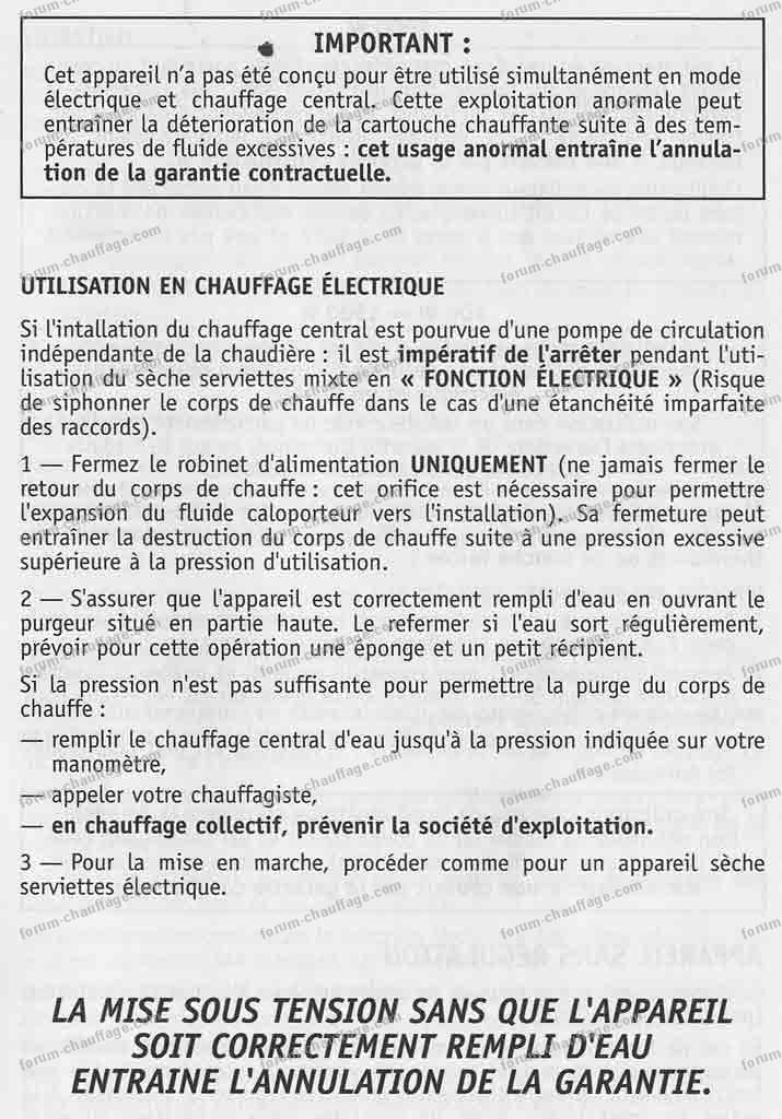 Questions Réponses Forum Chauffage Problème Régulation