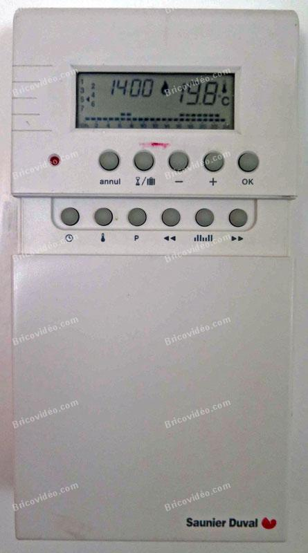 Bricovid o forum chauffage cherche notice pour r gler thermostat saunier duval - Thermostat saunier duval ...