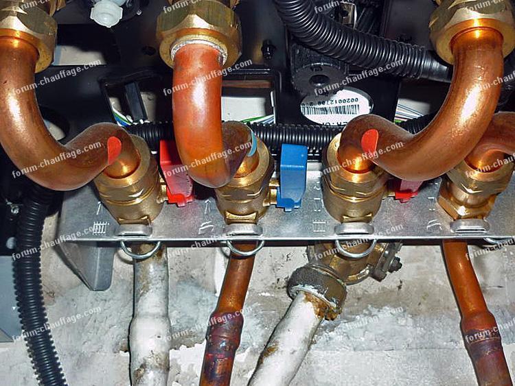Quel robinet r glage pour augmenter la pression chaudi re for Augmenter pression d eau