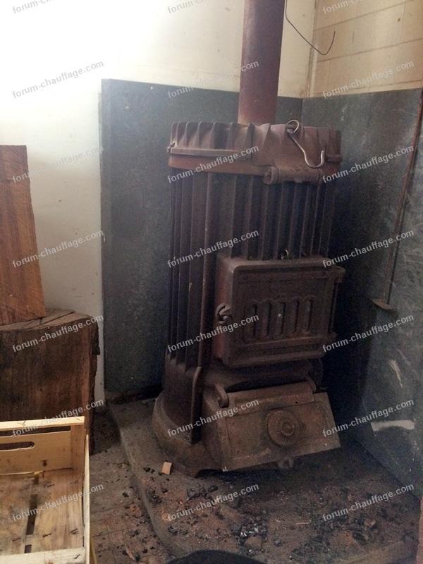 poêle à charbon Godin 193