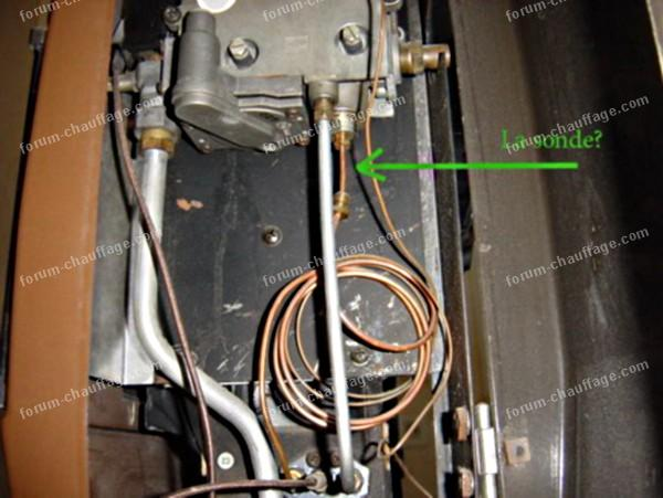 R glage po le gaz efel notice r gl seuils d clenchement remarqu flammes bleues images devis - Reglage thermostat chauffage gaz ...