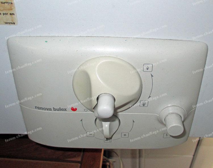 bricovid o chauffage conseils d pannage probl me allumage chauffe eau renova bulex. Black Bedroom Furniture Sets. Home Design Ideas