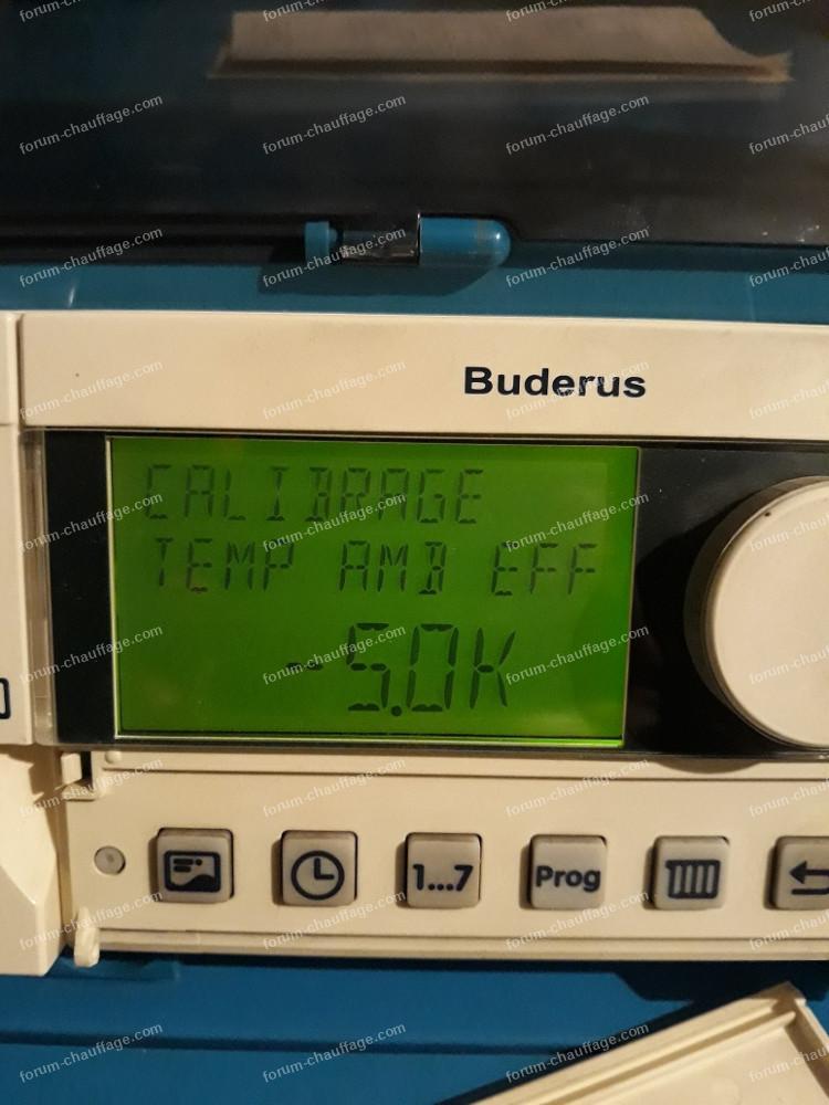 problème démarrage chaudière Buderus Logano G125