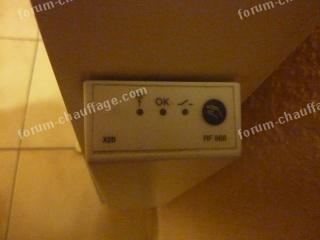 Problème commande radiateur électrique