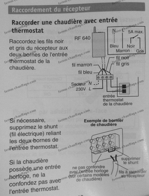 bricovid o chauffage conseils forum chauffage brancher un thermostat sur chaudi re thema c25e. Black Bedroom Furniture Sets. Home Design Ideas