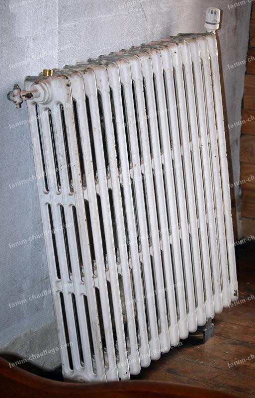 radiateur à eau chaude