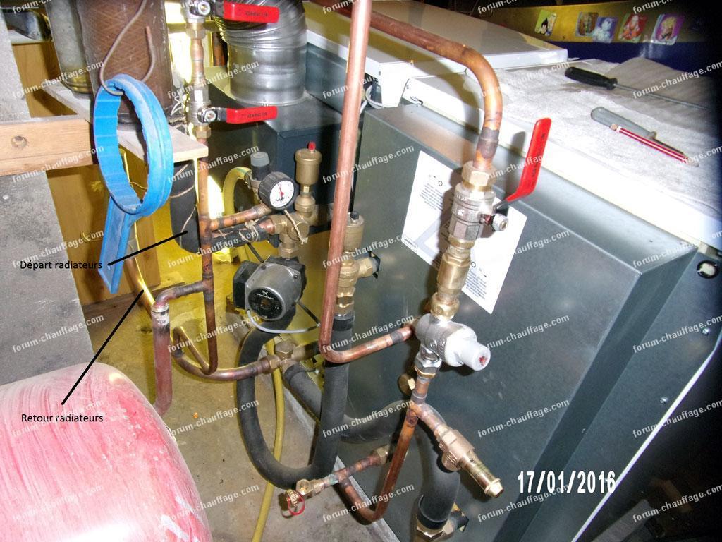 Forum chauffage probl me radiateurs chauffent en - Radiateur de dietrich ...