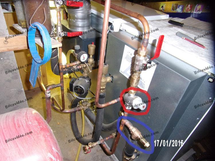 réducteur de pression chaudière