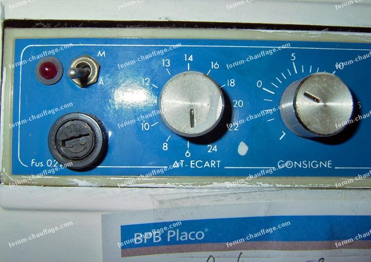 Questions d pannage chauffage recherche thermostat - Reglage chauffage au sol ...