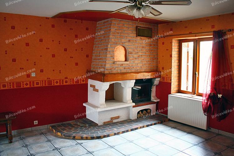 Forum bricolage d coration conseils chauffage maison relooker une chemin e - Relooker une cheminee ...