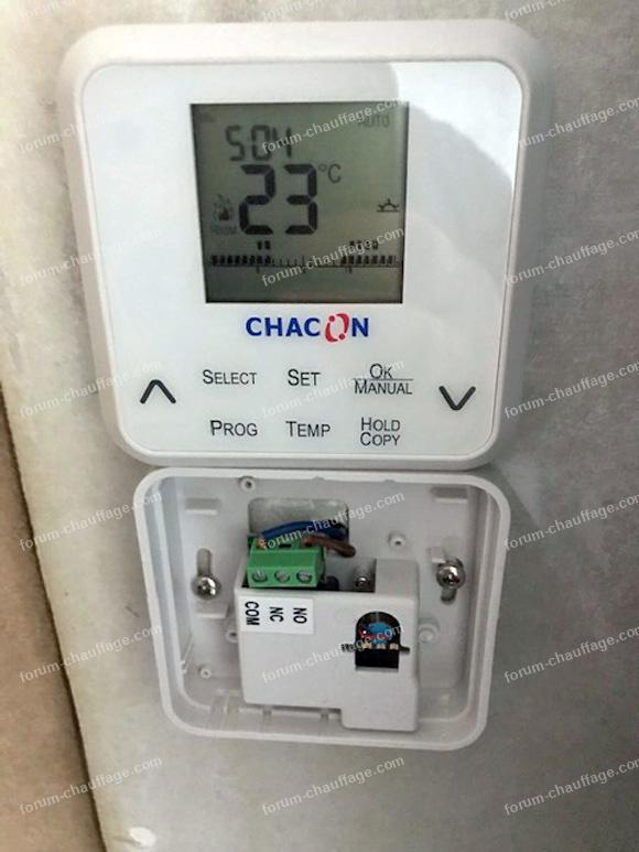 remplacer ancien thermostat