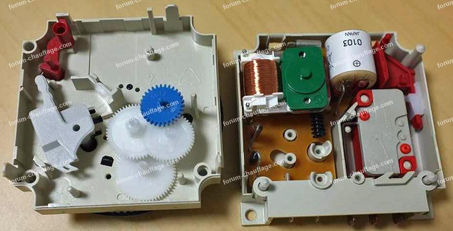 réparation horloge M129 buderus