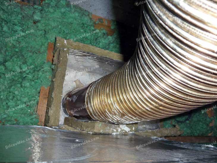 Avis sur installation conduit po le bois chauffage fort risque d 39 incendie - Conduit poele a bois ...
