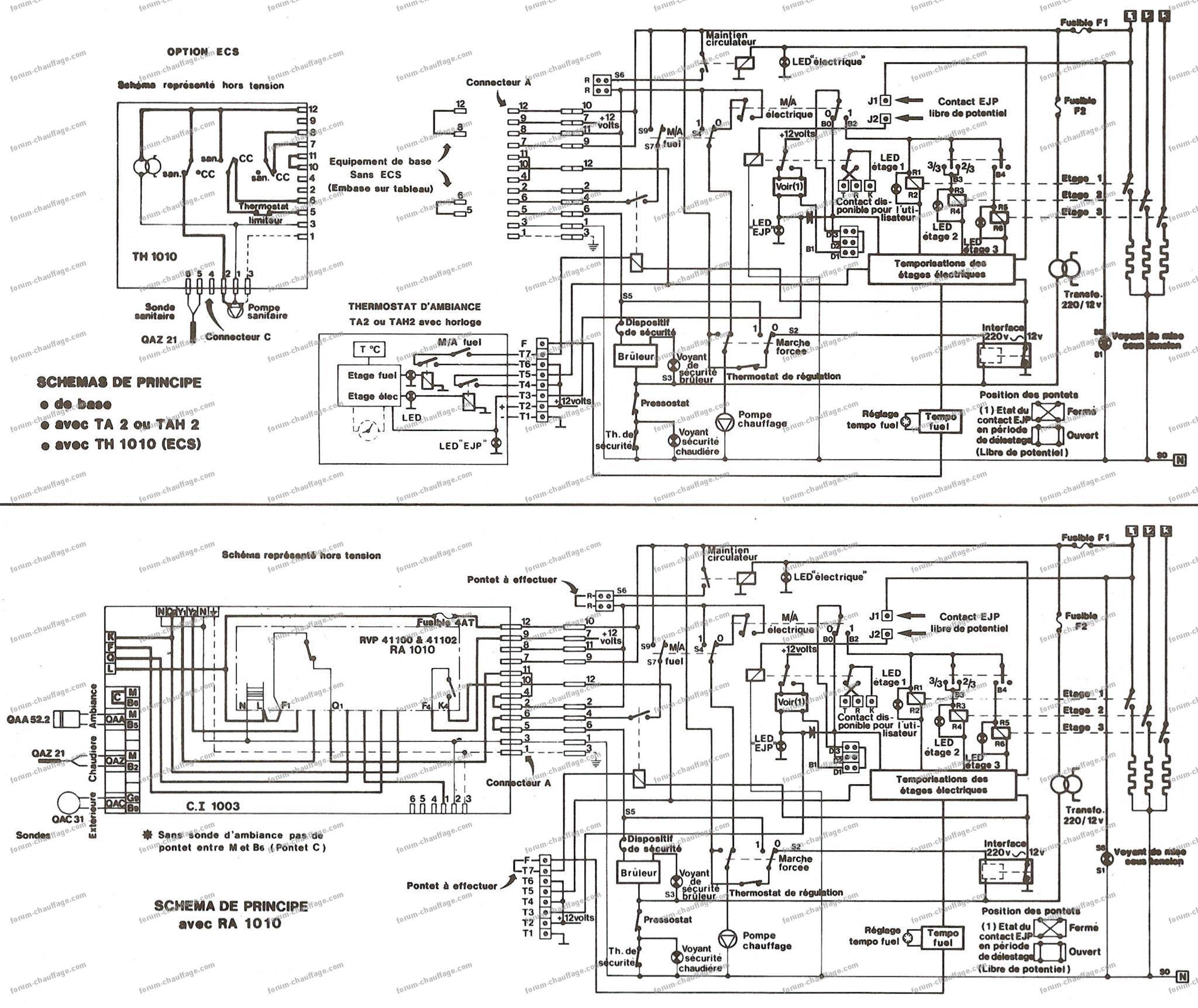 schema electrique ejp