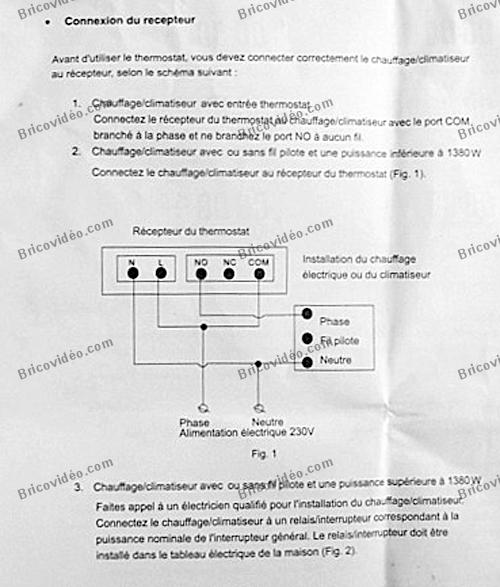 Questions forum chauffage installer un thermostat crono - Thermostat chaudiere fioul ...