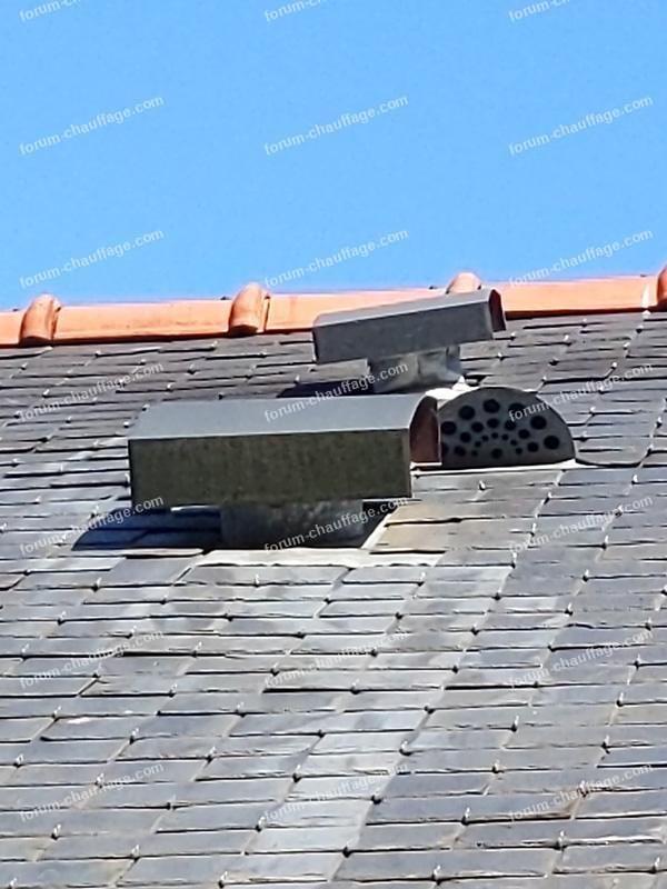 sortie VMC sur le toit