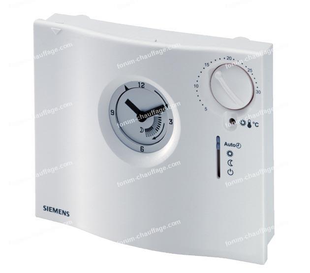 thermostat programmable QAW50