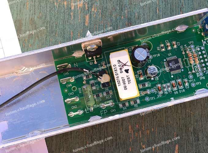 thermostat TAQ-075 radiateur Acova